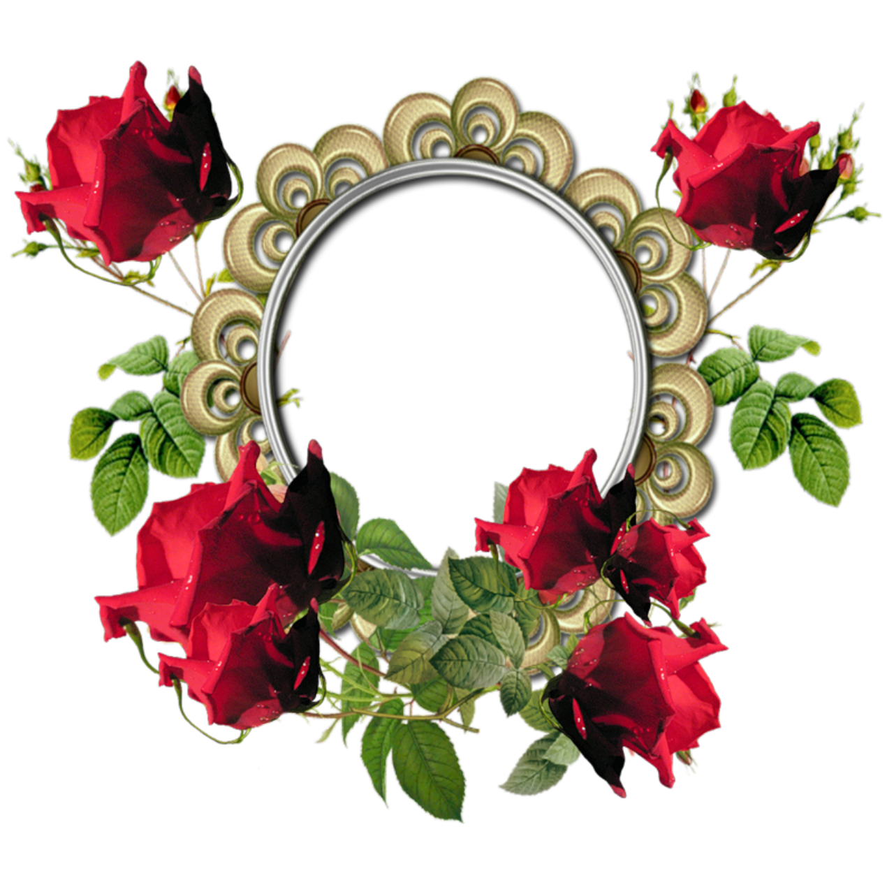 Rose Border In Png - ClipArt Best