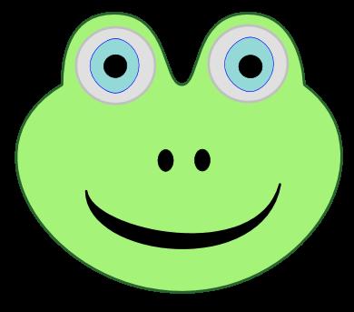 Frog Head - ClipArt Best