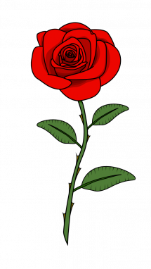 Red Roses Drawing - ClipArt Best