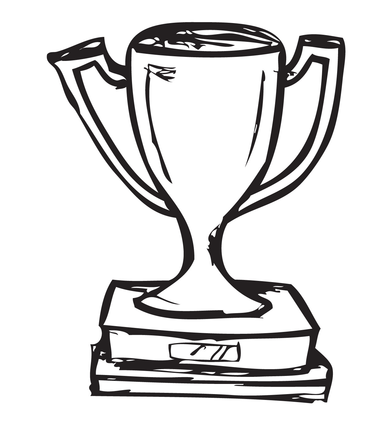 Outline Of Trophy - ClipArt Best
