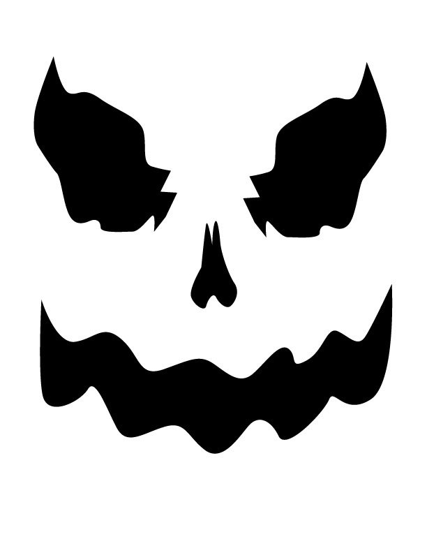 Scary Ghost Face - ClipArt Best