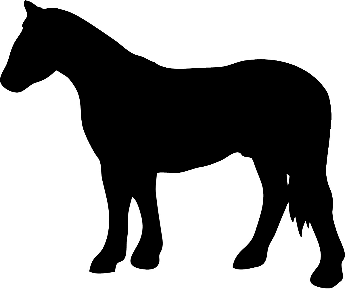 horse clip art free silhouette - photo #48