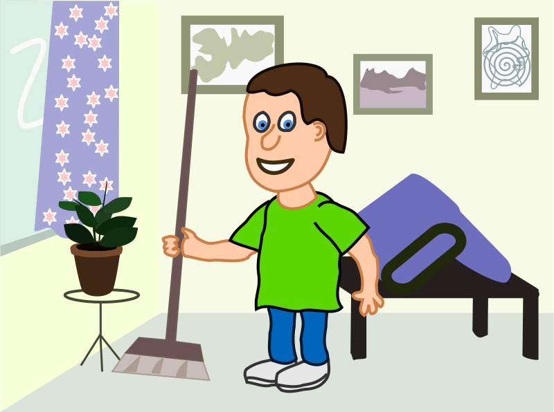 clean the house clipart - photo #17