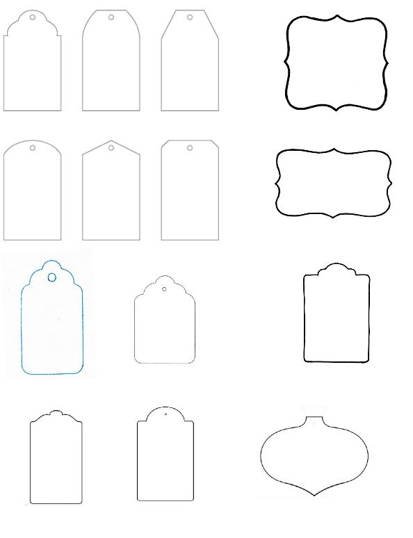 free printable gift tags template clipart best. Black Bedroom Furniture Sets. Home Design Ideas