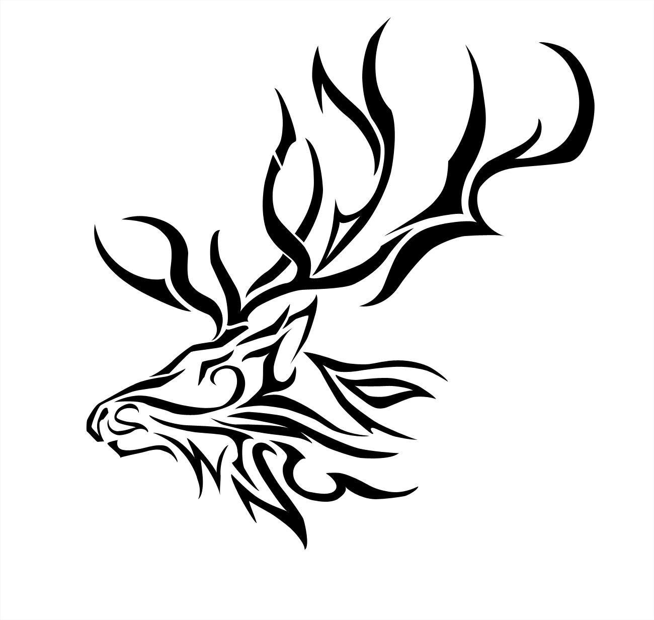 Elk coloring page - Co...
