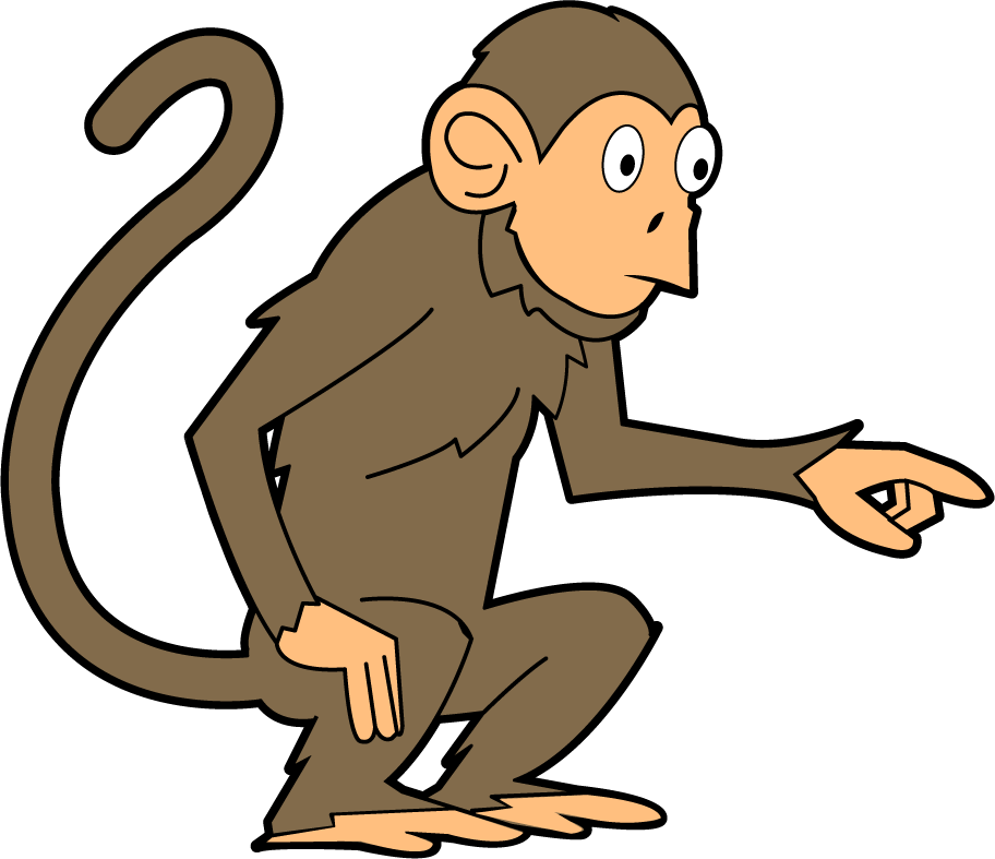 clipart image of monkey - photo #16