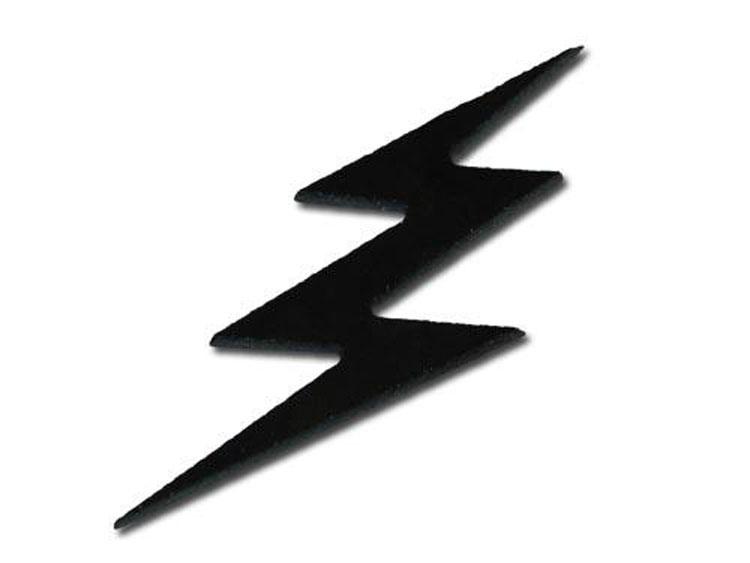 Watch more like Black Lightning Bolt