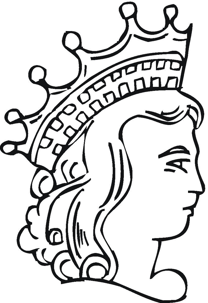Tiaras coloring pages clipart best for Tiara coloring page