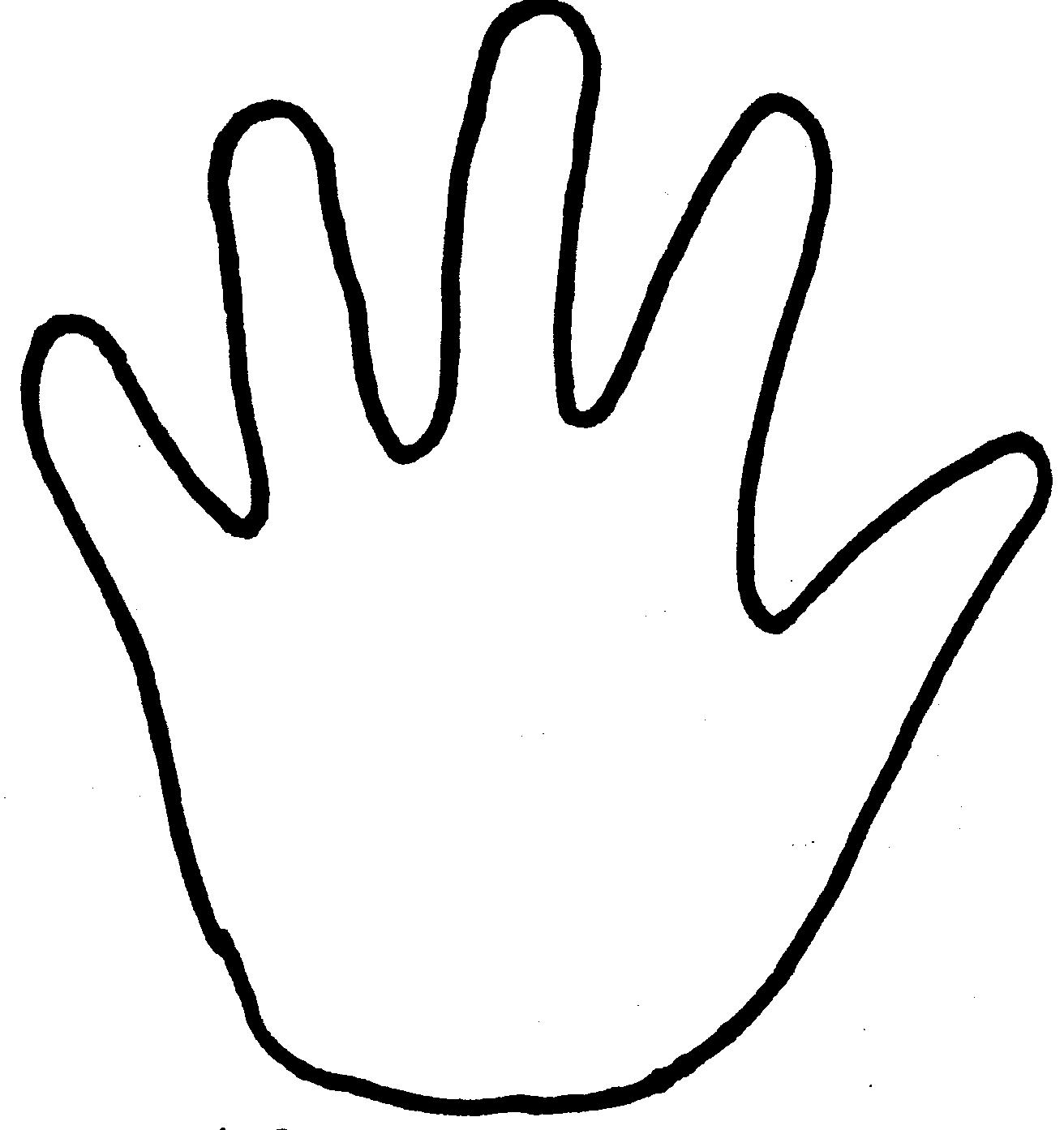 hands coloring pages - photo#11