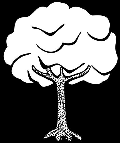 pohon hitam putih clipart best clipartbest