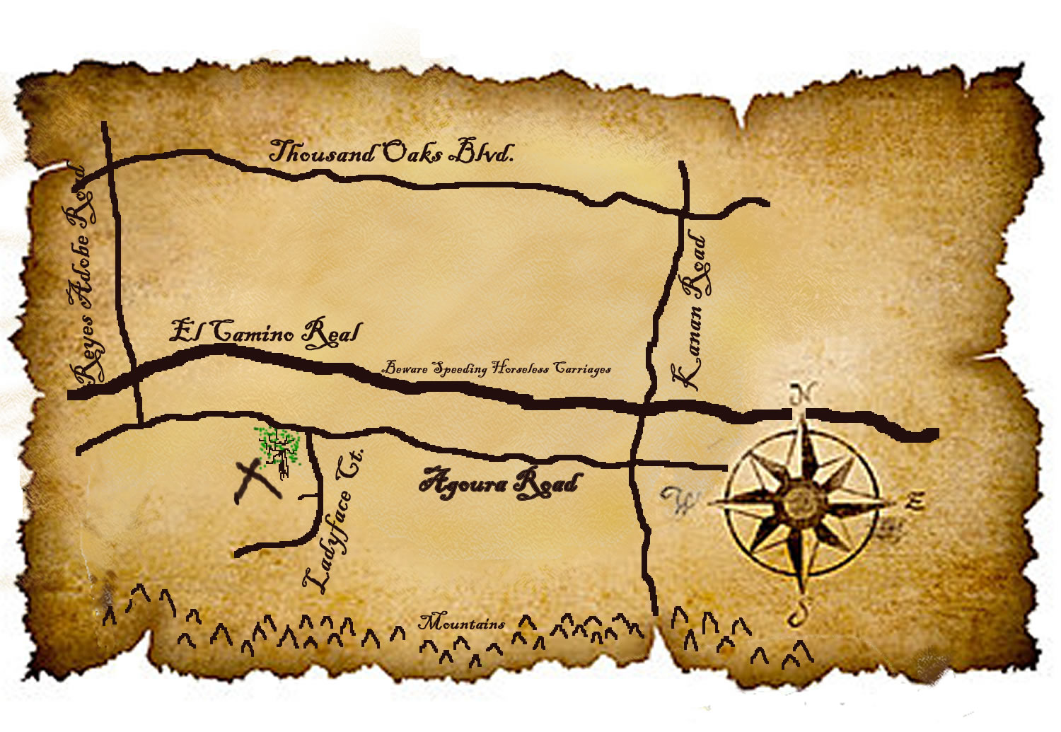 Treasure Map Printable Template - ClipArt Best