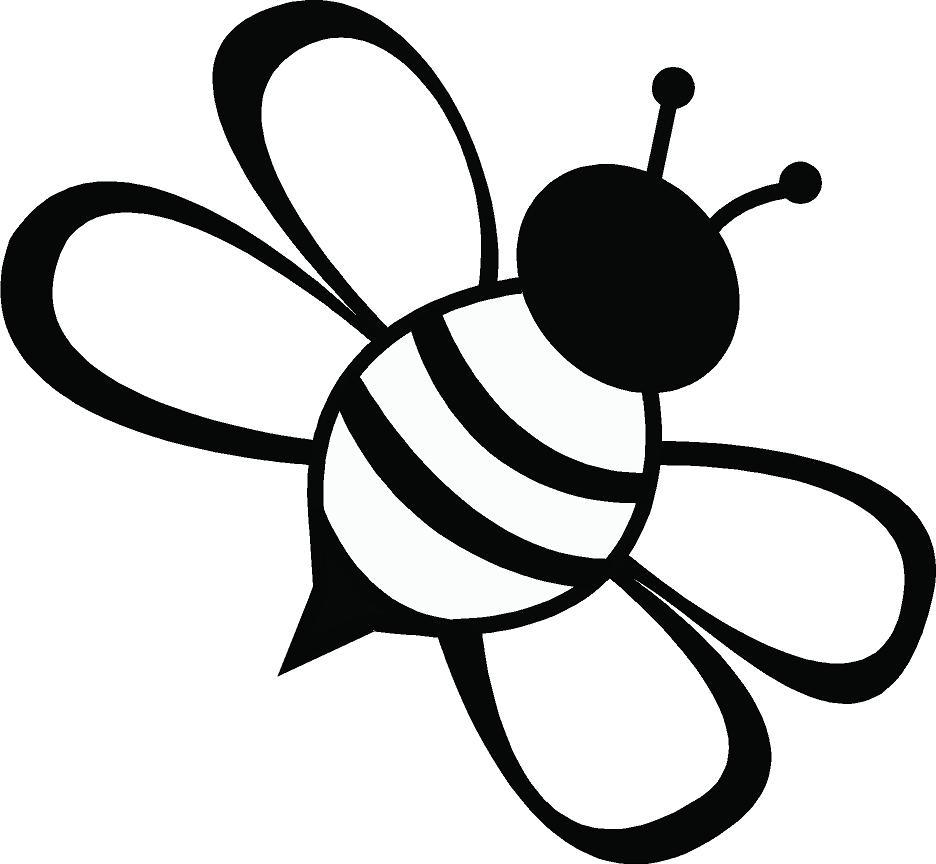 Annabella 67 Art Line Design : Bee line drawing clipart best