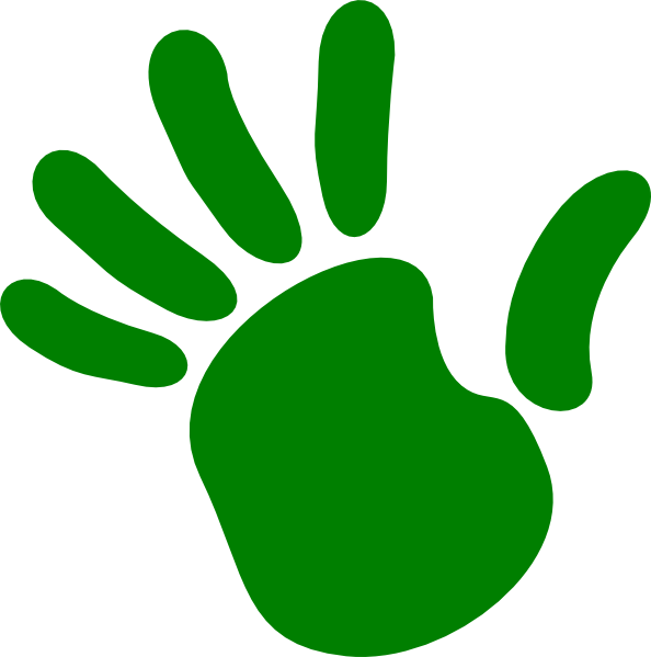 Handprint Clipart - ClipArt Best
