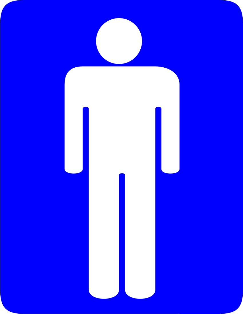 Boy Bathroom Sign Boy Bathroom Sign
