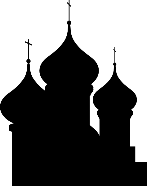 Church Silhouette Clip Art