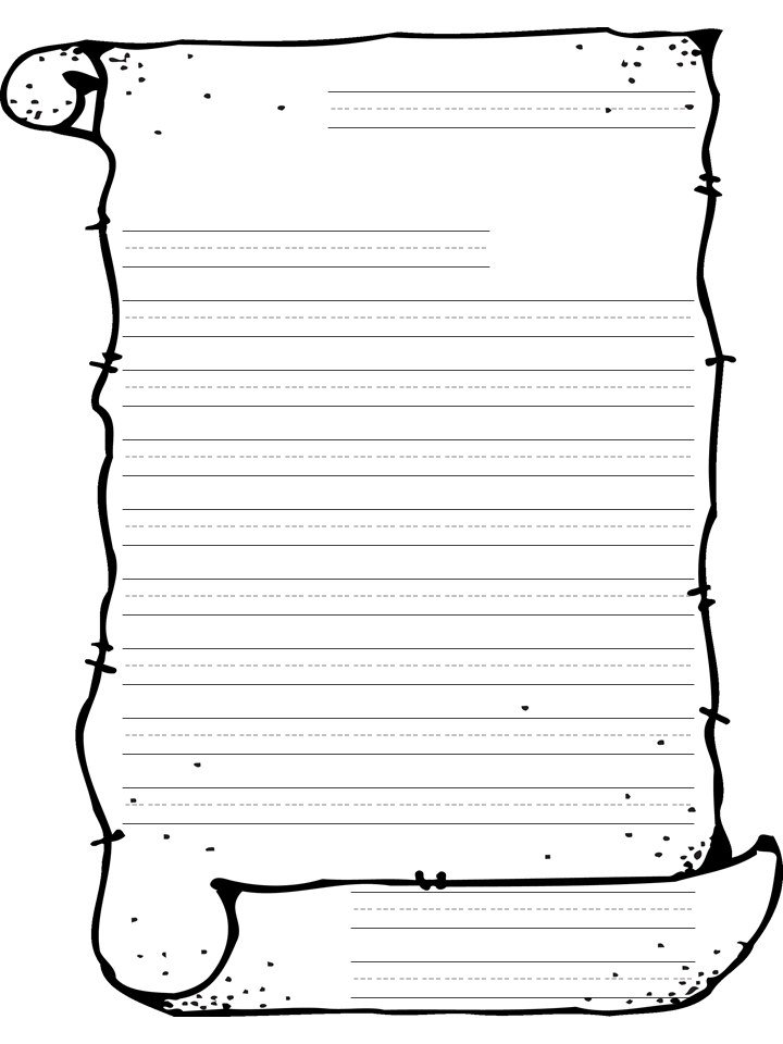 Doc585600 Lined Paper Word Template 16 Word Lined paper – Word Lined Paper Template