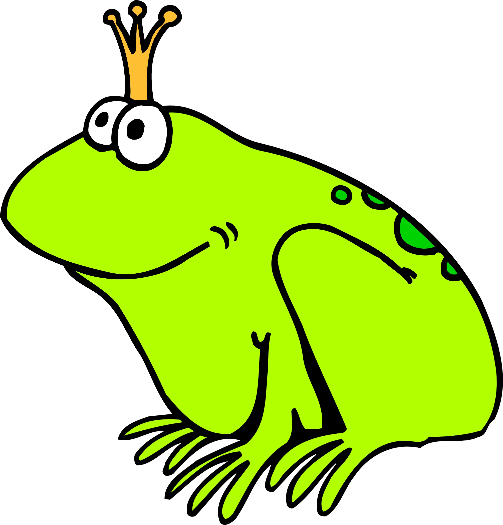Best Cartoon Frogs - ClipArt Best
