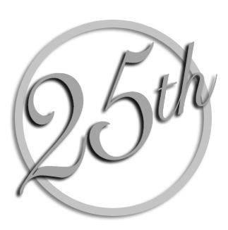 25th Anniversary Clip Art Free