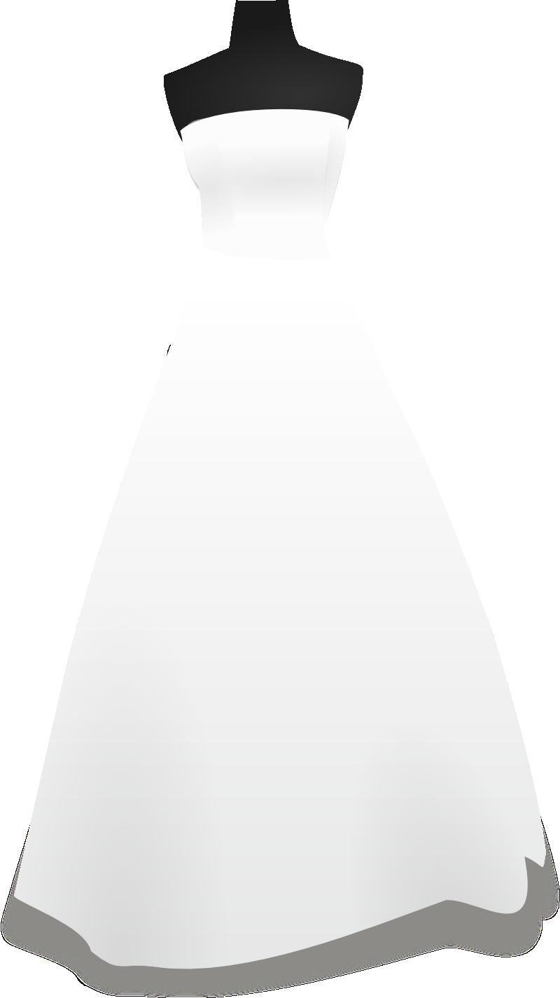 Free Wedding Dress Svg