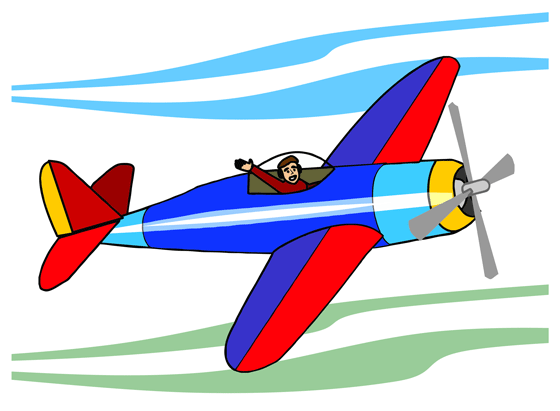small airplane clipart free - photo #3