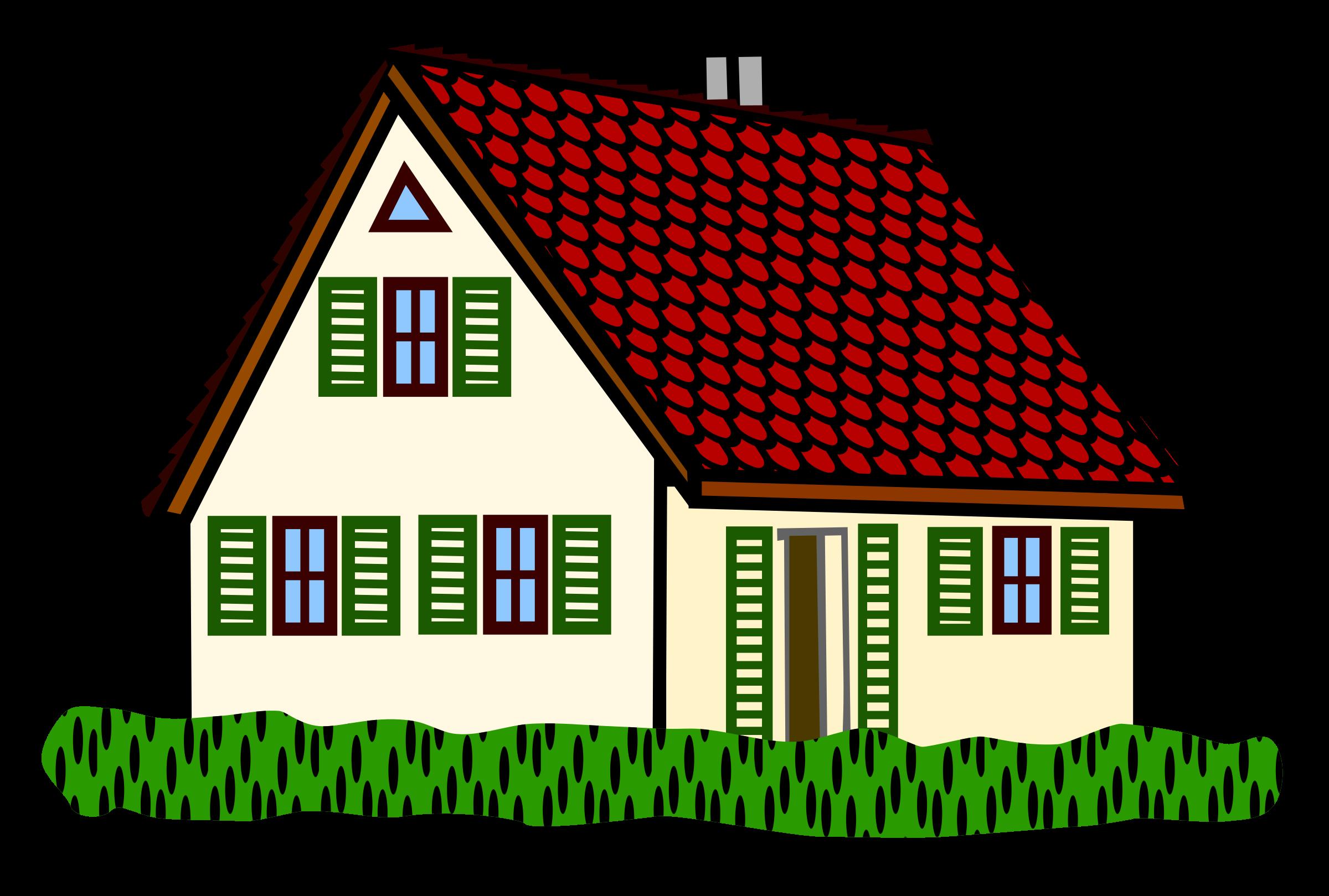Big House Clip Art - ClipArt Best