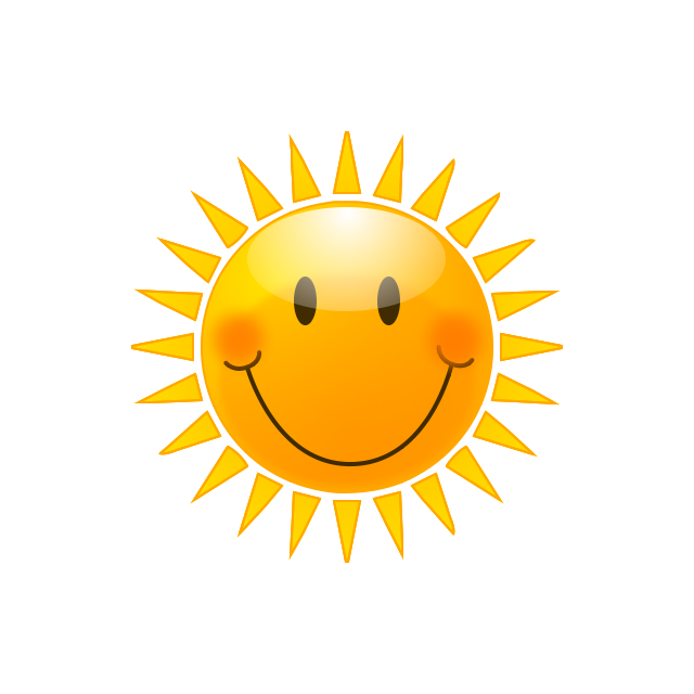 Cute Sun Cartoon - ClipArt Best