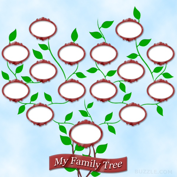 blank family tree template for kids - family tree template printable for kids clipart best