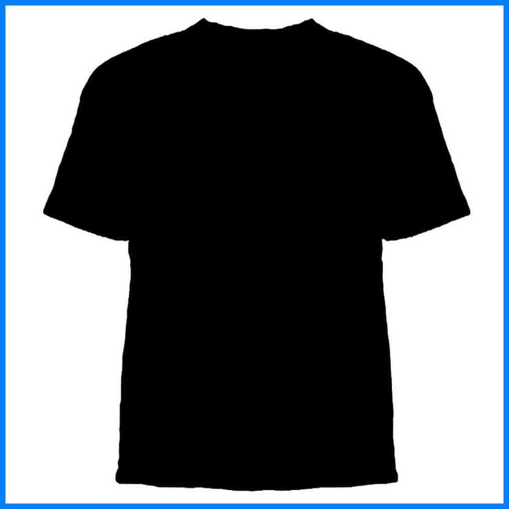 black t shirts template - photo #2