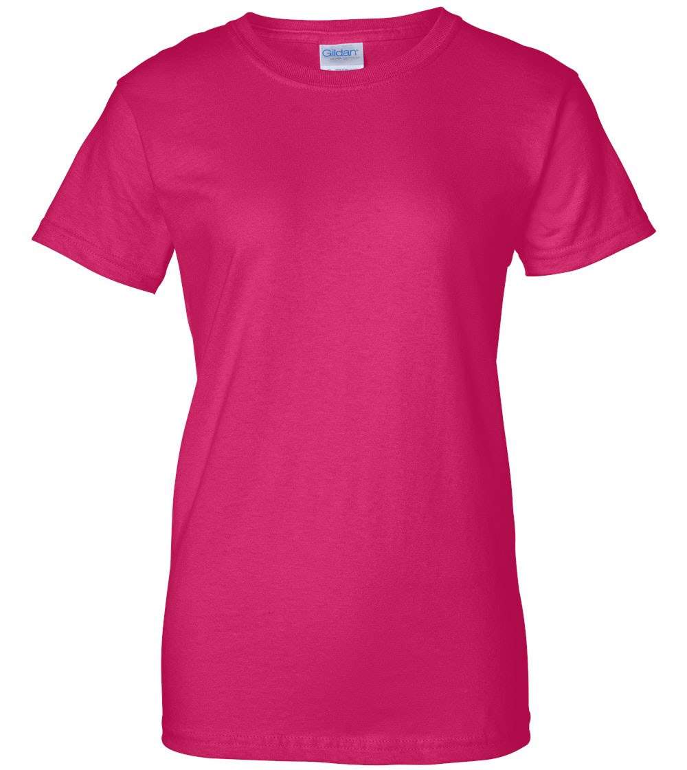 Pink t shirt template clipart best for Pink ladies tee shirts