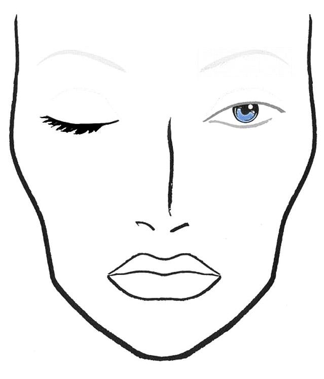 Blank Mac Face Charts Download Mac Face Charts
