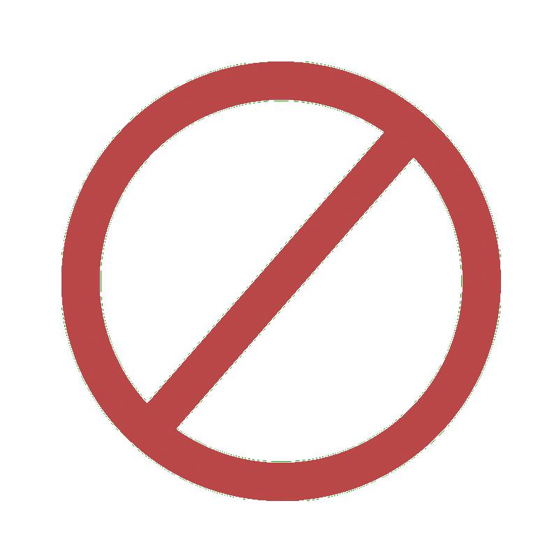 no symbol png clipart best