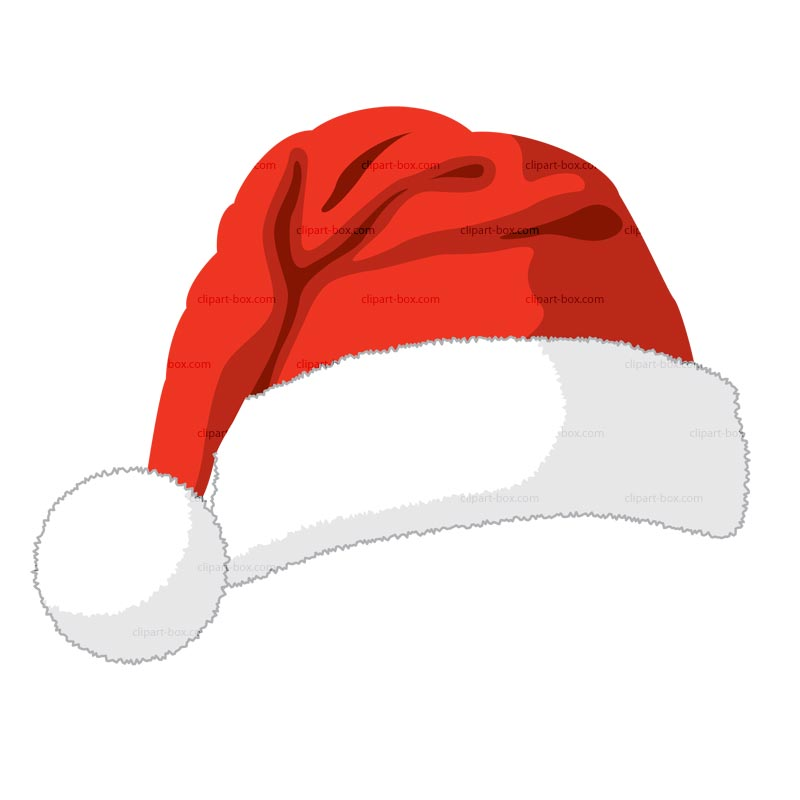 transparent santa hat clipart