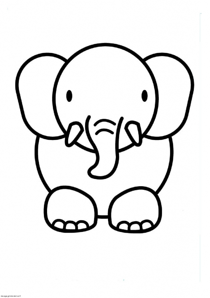 Animal Drawings For Kids To Color - ClipArt Best