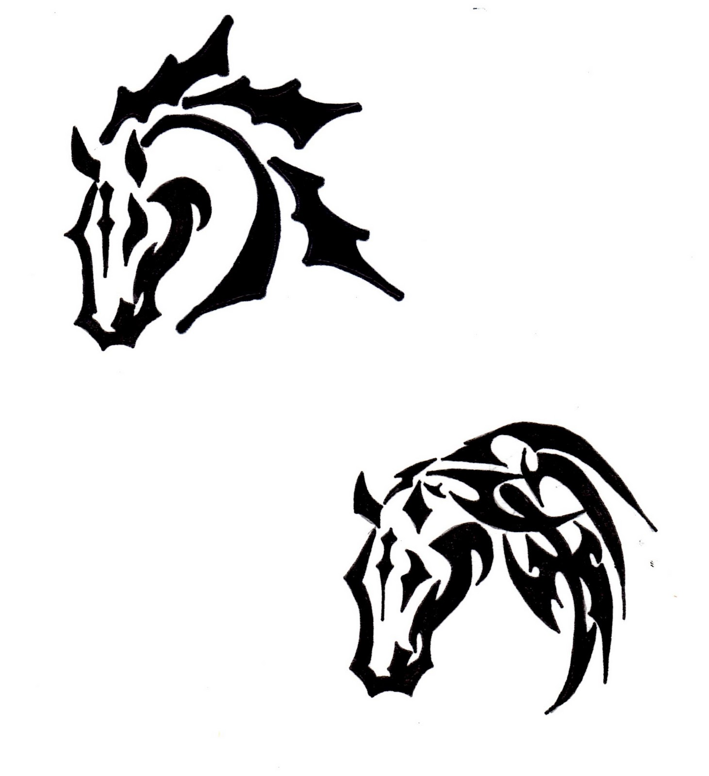 the gallery for tribal horse head clip art. Black Bedroom Furniture Sets. Home Design Ideas