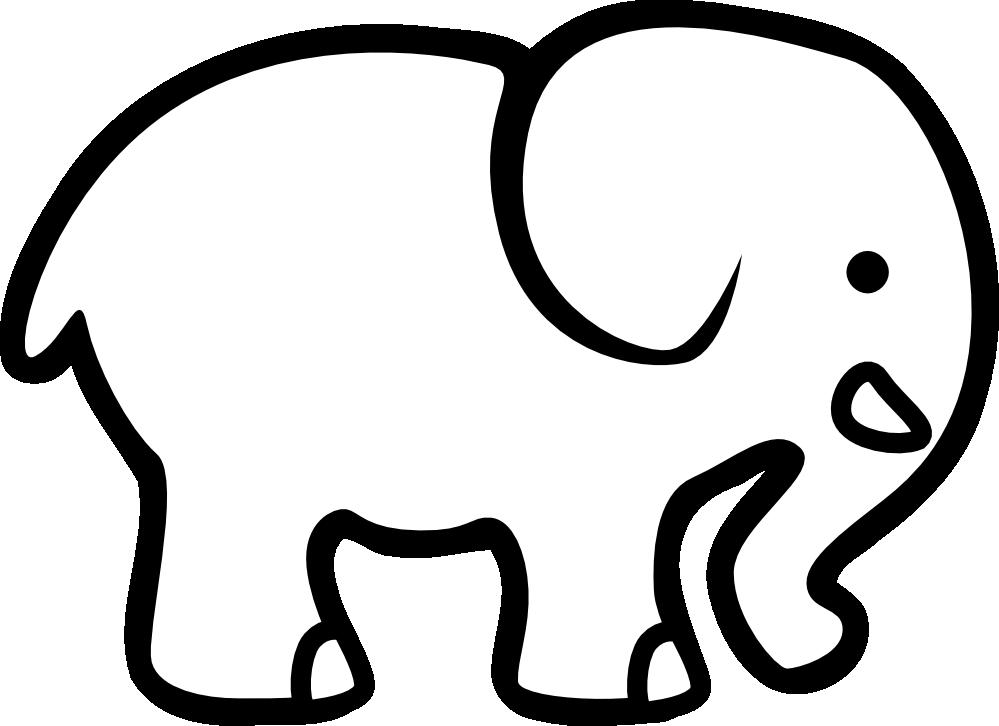 cartoon elephant vector   clipart best