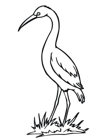Stork Drawing ClipArt Best