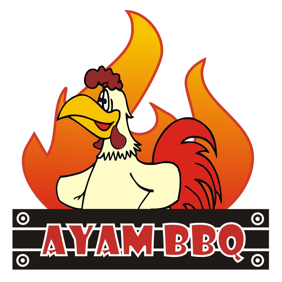 "Entry #33 by randyhk for ""Ayam BBQ"" Logo Design 