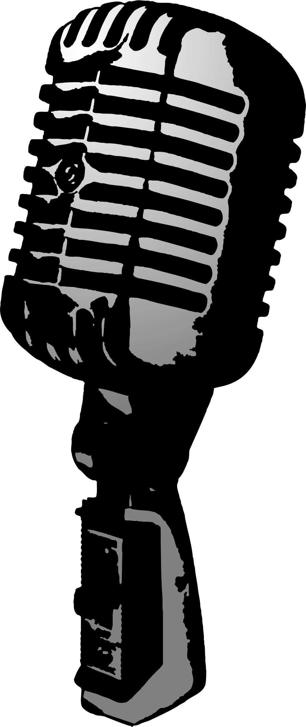 Clipart - Microphone - ClipArt Best - ClipArt Best Vintage Microphone Black And White