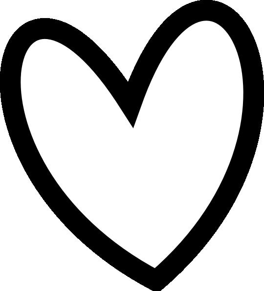 Black Heart Clip Art