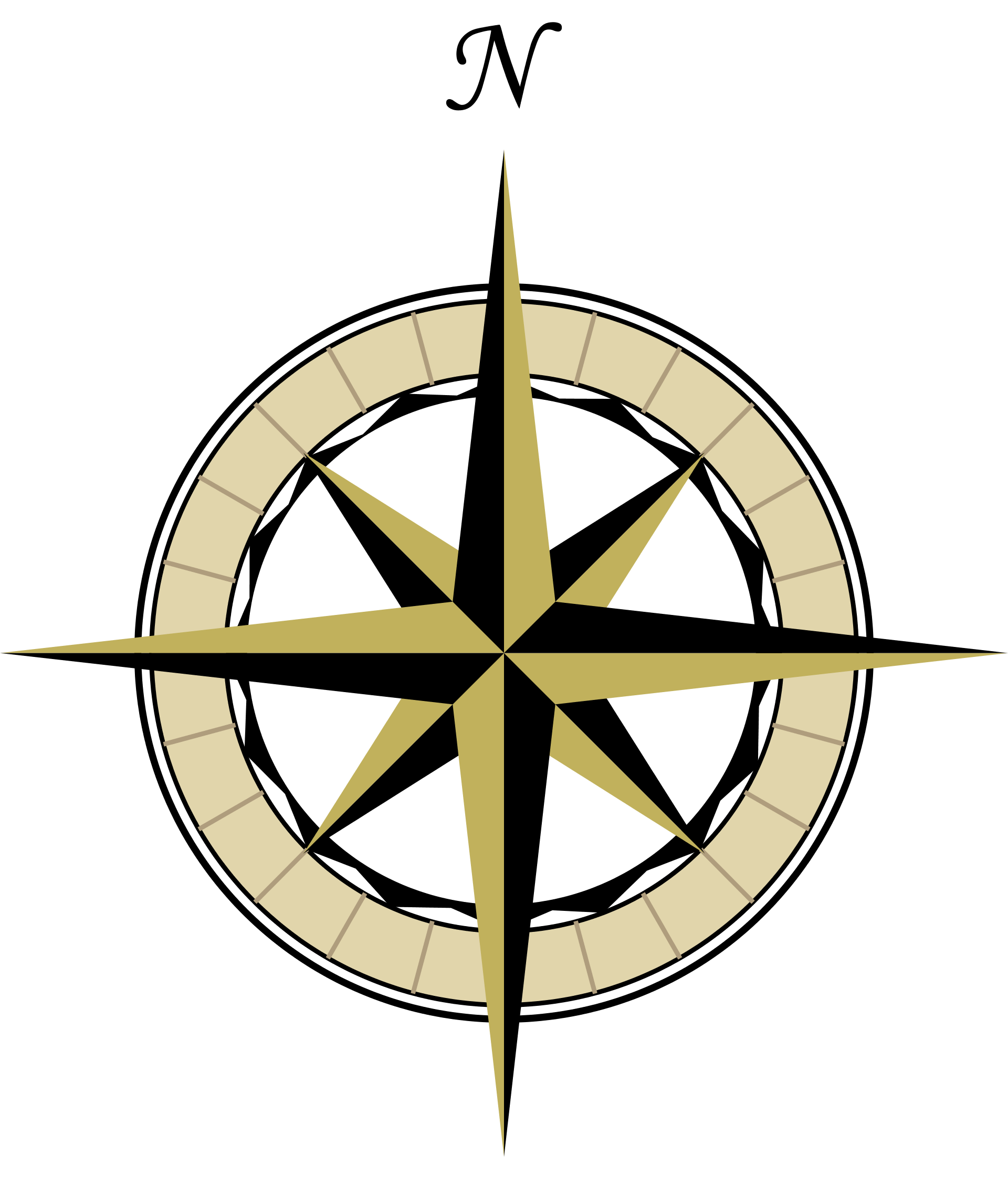 Wind Rose Compass - ClipArt Best