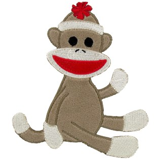 Sock Monkey Clipart - ClipArt Best