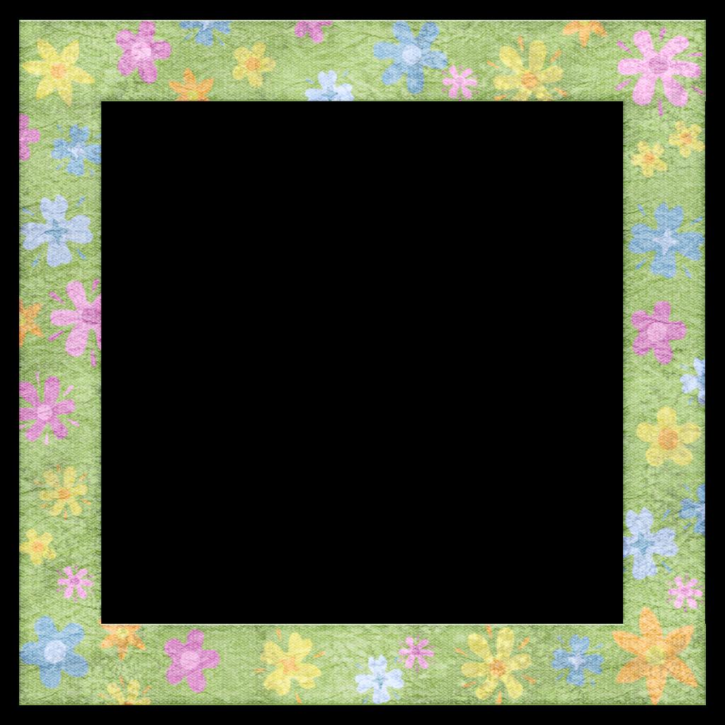Png Image Spring Frames | Cartoon frame design - ClipArt ...