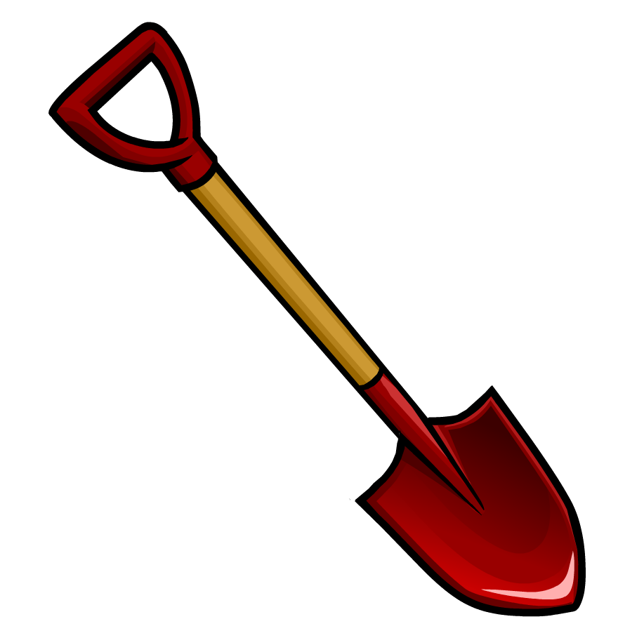Clipart shovel clipart best for Gardening tools clipart