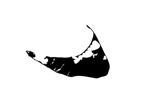 Island Silhouette Clip Art Nantucket island hand cutIsland Silhouette Clip Art