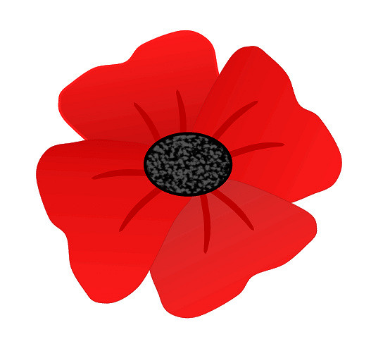 Anzac Poppy Clipart Clipart Best