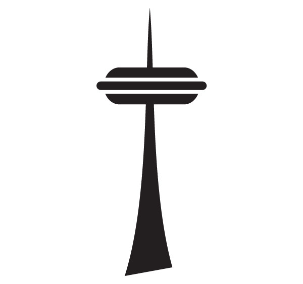 clipart of space needle - photo #1