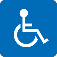 wheelchair accessible Logo Vector (.EPS) Free Download