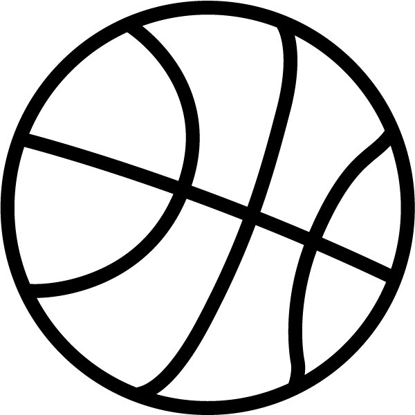 Basketball black and white house clipart black and white 4 ...