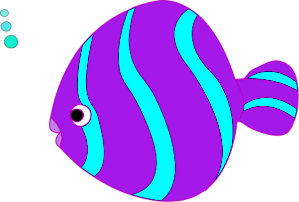 Pink fish clip art clipart best for Fish clipart images
