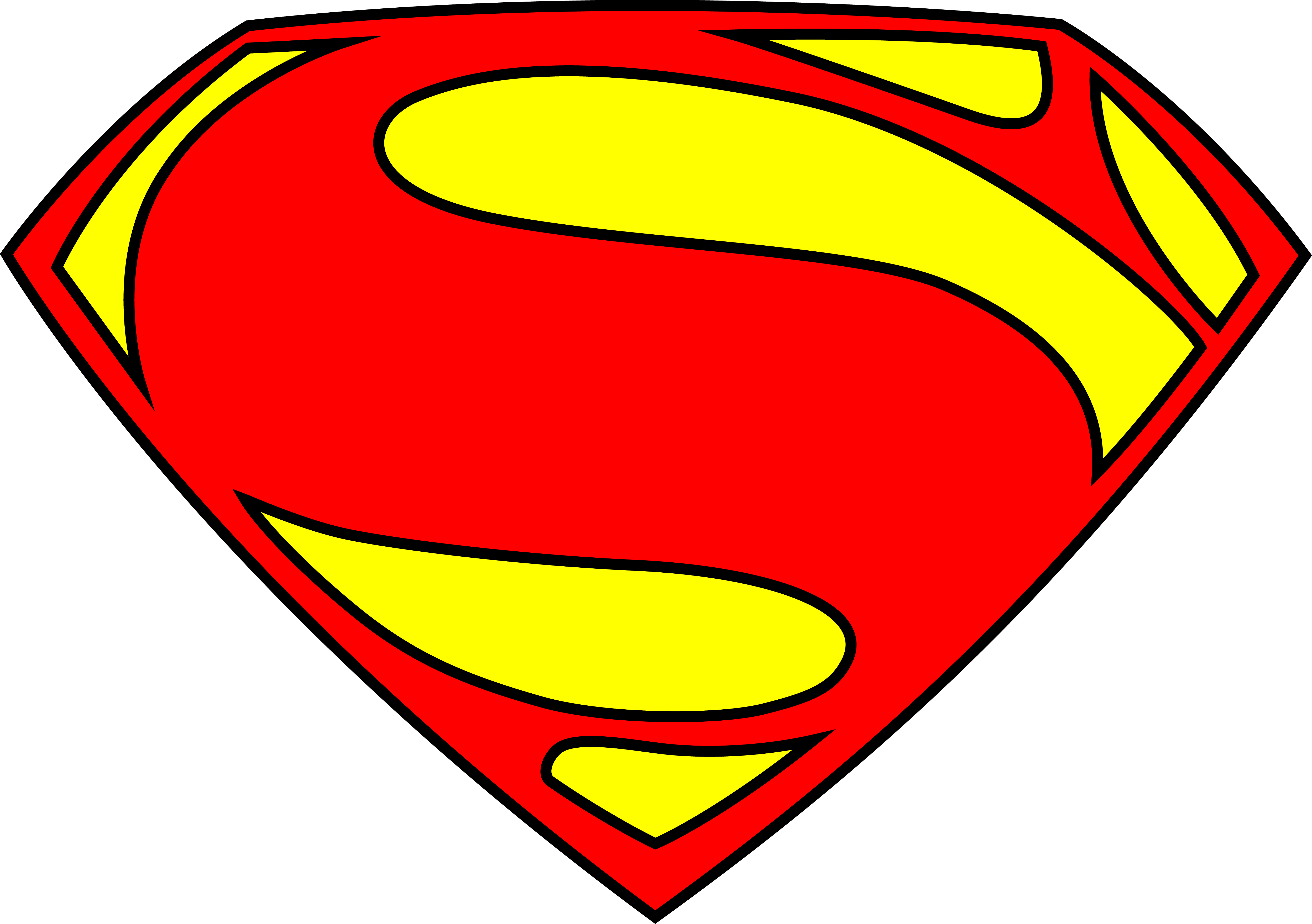 Original Superman Logo - ClipArt Best